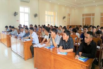 VQG Phong Nha – Kẻ Bàng: Tập huấn nâng cao năng lực cho lực lượng bảo vệ rừng chuyên, bảo vệ rừng thôn bản và các nhóm bảo tồn thôn bản